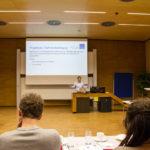 Kerstin Blumenstein introduces the brainstorming workshop